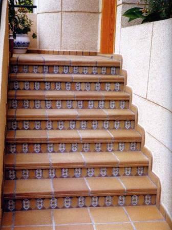 Dlažba na venkovní schody